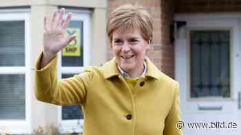 """""""Schotten-Merkel"""" liegt vorn: Wählen Schotten heute Richtung Unabhängigkeit? - BILD"""