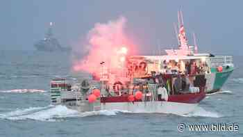 Brexit-Zoff: Johnson schickt Kriegsschiffe vor die Insel Jersey - BILD