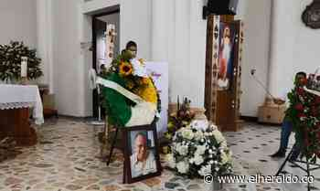 En Cereté le dieron el último adiós a Rafael Chica - EL HERALDO