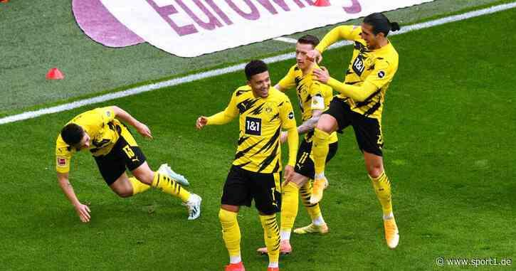 Bundesliga: Borussia Dortmund - RB Leipzig 3:2 - Sancho trifft doppelt - SPORT1