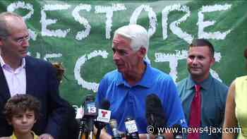 Crist hits Jacksonville to kick off campaign for Florida governor - WJXT News4JAX