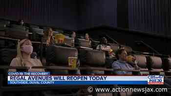 Regal Theatres to resume operation in Jacksonville - ActionNewsJax.com