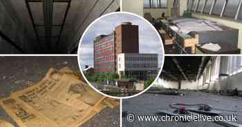 See inside the deserted Tyneside office block where thousands once worked