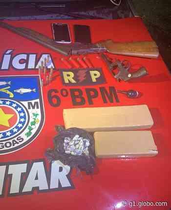 Criminosos invadem casa em Maragogi e são presos - G1