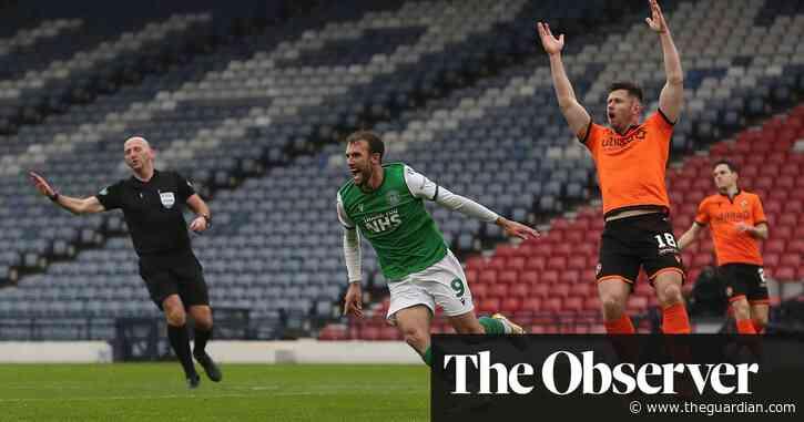 Nisbet and Doidge strikes ease Hibs past poor Dundee United