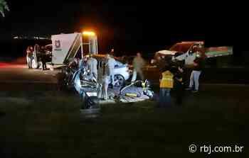 Jovens morrem vítimas de acidente na PR-281, em Dois Vizinhos - RBJ