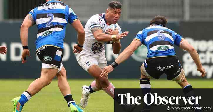 Max Malins strikes final blow as Bristol rack up big derby win at Bath
