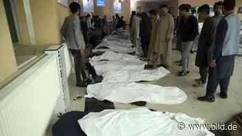 In Kabul - 30 Todesopfer bei Anschlag vor Mädchenschule - BILD