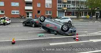 Unfall in Eschweiler: Drei Personen auf Indestraße verletzt - Aachener Nachrichten