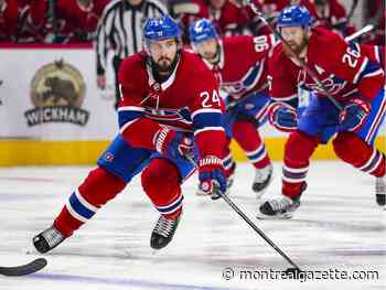 Canadiens' centre Phillip Danault out with a concussion