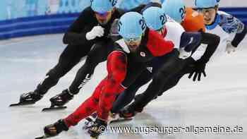 Kanadier Hamelin Sieger im Shorttrack über 1500 Meter - Augsburger Allgemeine