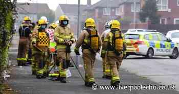Six fire crews battle blaze near derelict church