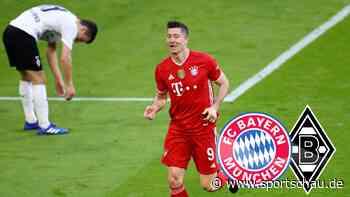 Bayern München - Borussia Mönchengladbach 6:0, 32. Spieltag