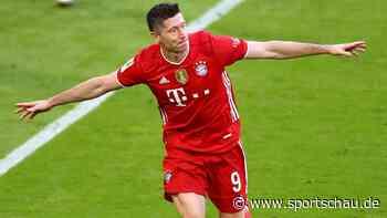 Robert Lewandowski braucht noch ein Tor zu Müllers historischem Rekord