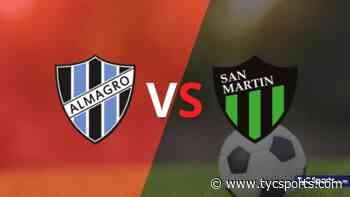 Almagro recibirá a San Martín (SJ) por la Zona B - Fecha 9 - TyC Sports