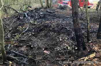 POL-PDWIL: Brand im Waldgebiet