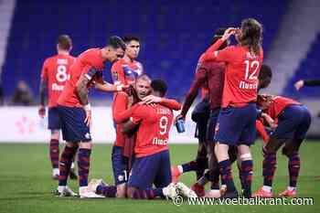 Lille blijft op kop in Ligue 1 na zege tegen Nice: titelrace in Frankrijk is nagelbijter - Voetbalkrant.com