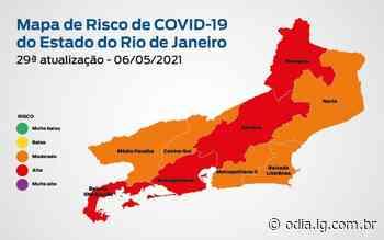 Rio de Janeiro está em bandeira laranja para a covid-19 - Jornal O Dia
