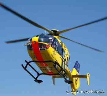 Frontalzusammenstoß bei Mönchröden - Drei Verletzte - Rettungshubschrauber im Einsatz - Neue Presse Coburg
