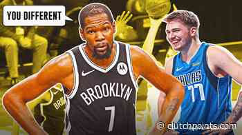 Nets news: Kevin Durant is in awe of Luka Doncic's abilities - ClutchPoints