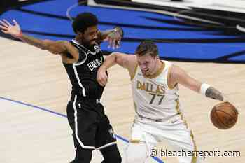Luka Doncic Drops 24 as Mavs Hand Kevin Durant, Nets 4th Straight Loss - Bleacher Report