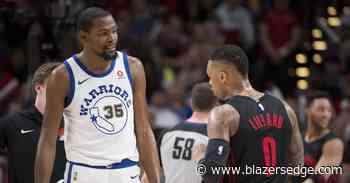 Portland Trail Blazers' Damian Lillard Praises Kevin Durant - Blazer's Edge