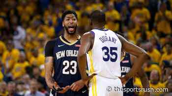 """""""Kevin Durant Can Do It All From Anywhere On The Floor"""": Anthony Davis names the player he finds the hardest... - The Sportsrush"""