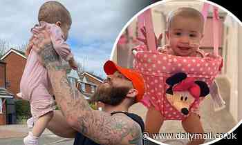 Ashley Cain shares update on £1.6m raised for late daughter Azaylia
