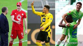 Bayern überrollt Gladbach - Sancho rettet BVB-Sieg - Große Brekalo-Show