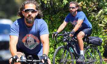 Shia LaBeouf goes out on a bike ride amid abuse allegations from ex FKA twigs - Daily Mail