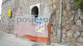 Ravello, continuano i lavori per la realizzazione dei bagni pubblici a Castiglione - Positanonews - Positanonews