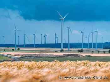 Bürgerwind Borchen GmbH möchte die Anlagen östlich von Etteln errichten und betreiben: Statt drei werden es zwei - Borchen - Westfalen-Blatt