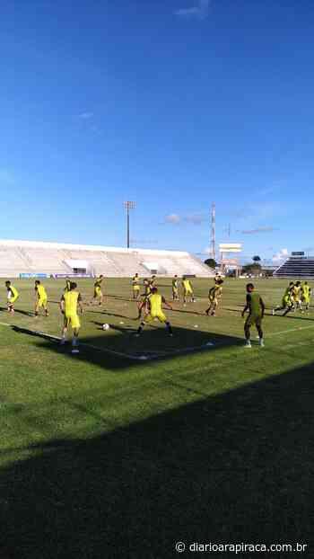 Com desfalques, ASA finaliza preparação para jogo com o Murici pelo Alagoano - Diário Arapiraca