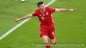 Bundesliga: Bayern feiern Meistertitel mit Torgala gegen Gladbach