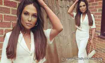 TOWIE's Fran Parman flaunts impressive 2st weight loss in white outfit