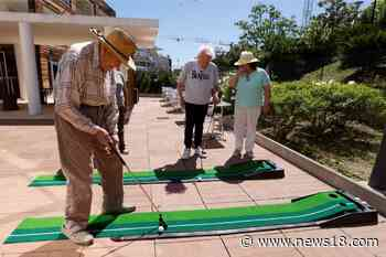 Football and Minigolf Give the Elderly a Reprieve from Covid Curbs in This French Care Home - News18