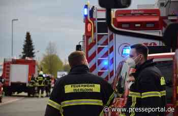 FW-MK: Einsatz im Gewerbegebiet Rombrock