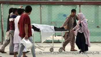 Afghanistan: Mindestens 33 Tote bei Explosion nahe einer Schule in Kabul