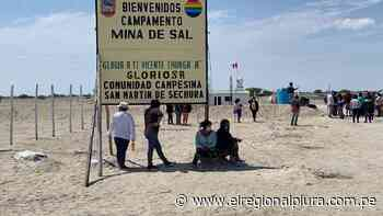Sechura: comuneros anuncian protestas para recuperar minas de sal - El Regional