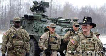 The National Interest aconselha Estados Unidos a 'ficarem longe' das tropas russas - Sputnik Brasil