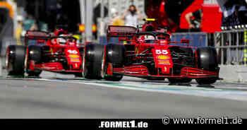 Ferrari: Carlos Sainz wegen Reifenverschleiß im Rennen besorgt