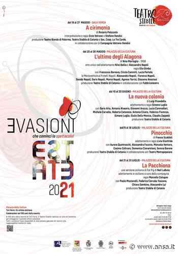 Teatro: riparte Stabile Catania con cartellone 'Evasioni' - Sicilia - Agenzia ANSA