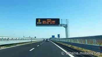 Tangenziale di Catania, al via installazione nuovi pannelli a messaggio variabile - Mobilita Catania