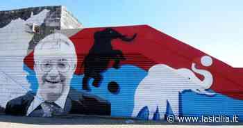 Catania, lavori Enel in piazza Cannavò: murales sarà ripristinato - La Sicilia