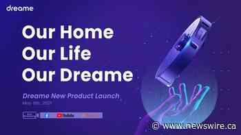 Dreame überträgt die Markteinführung von Smart Home Reinigungsgeräten am 8. Mai live
