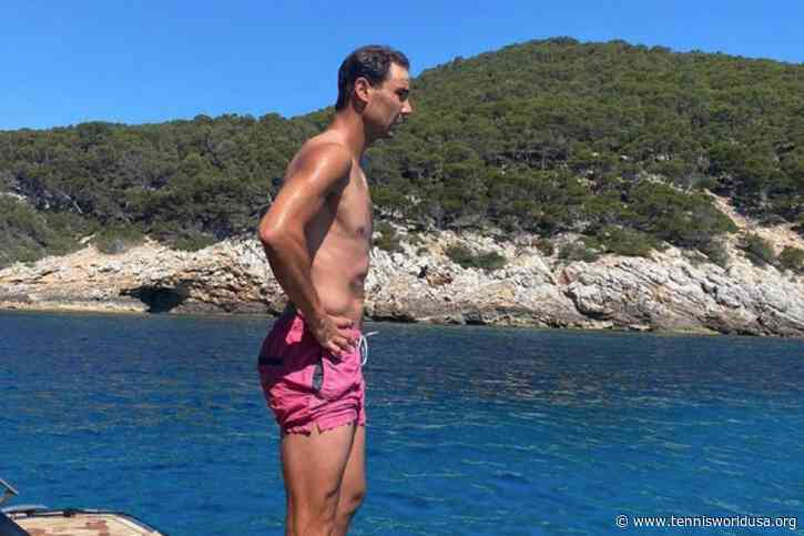 Rafael Nadal enjoys a day off at his paradise island after tough Madrid loss
