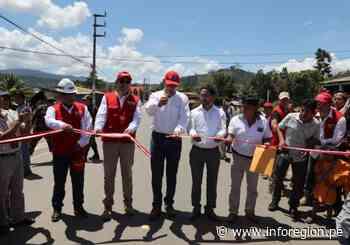 Presidente Martín Vizcarra inauguró carretera Mazamari – Cubantía - INFOREGION