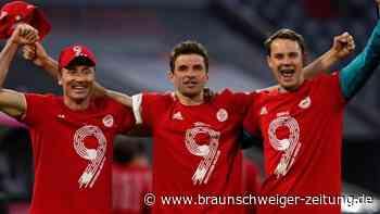 Rekord-Jäger Lewandowski trifft bei Bayerns Meistergala dreifach