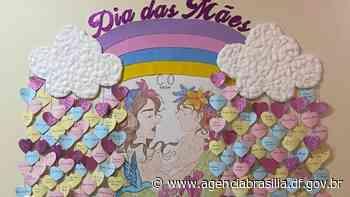 Homenagem às mães que trabalham no Hospital de Santa Maria - Agência Brasília