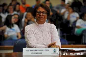 Pastora Lorena volta à Câmara de Vereadores de Santa Maria - Diário de Santa Maria